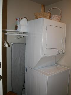 Private laundry facilities