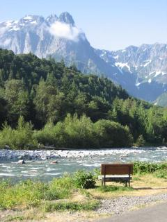 Sit by the river and just breathe