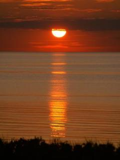 Sunset over the Gulf of St Lawrence