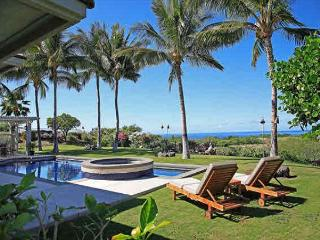Tranquil Mauna Kea Home, Fabulous Ocean View and Pool, 1/1 Ohana may be added, Kamuela