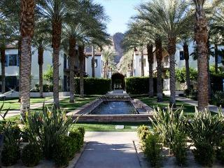 The most highly upgraded villa in Legacy Villas with great mountain views, La Quinta