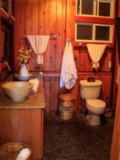 Granite and stone bathroom
