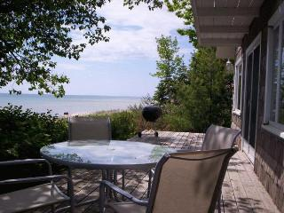 Enjoy a peaceful afternoon on the front deck.