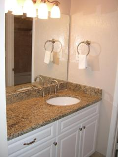 Granite Countertop in Master Vanity Area