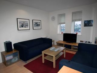 1-bedroom apt with gym, sauna and a steam room, 35 mins away from central London