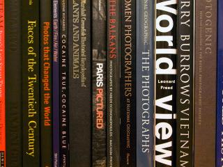Some of my books, mainly photography, art and history.