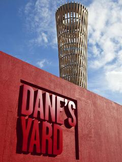 Dane's Yard Restaurant offers excellent food in beautiful suroundings, next to the canal.