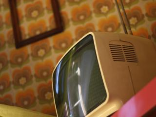 Vintage TV from Orange Room