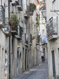 Rua do apartamento