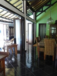 Villa dining and verandah