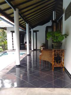 Verandah by pool