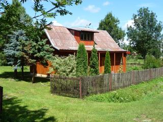 Romantic wooden cottage, Sieniawa
