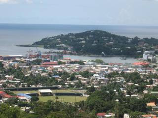 View of the City of Castries
