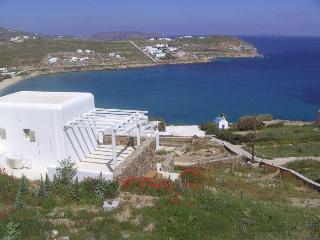 Beachfront villa,stunning beach, seaview. Family oriented. Eco-friendly. Mykonos