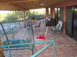 COVERED PATIO.  KOKOPELLI and ZIA SUITES