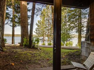 Lake views and & a shared pool await from this wonderful lakefront home