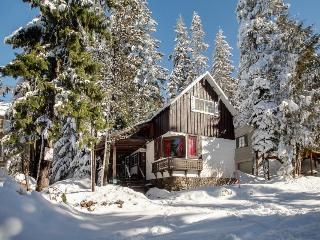 3-bedroom ski getaway with private hot tub!, Government Camp