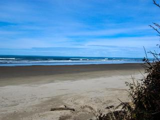 Quiet, dog-friendly home with private hot tub, backyard, & path to beach, Yachats