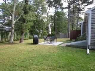 Back yard with patio