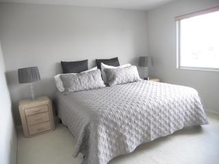 Master Bedroom-King bed with TV