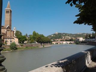 Verona: a house along Adige river!