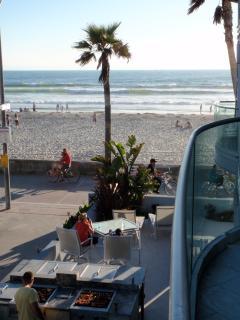 View From Balcony - Beach & BBQ