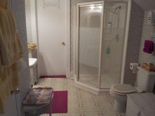 Towels and toiletries are included