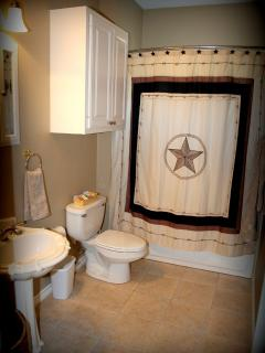 Large 2nd Bathroom.