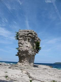 Flowerpot Island - UNESCO World Heritage Site