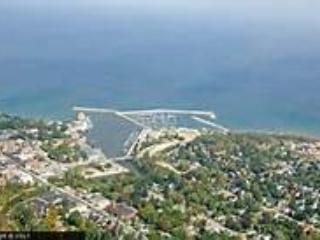 Areal view of beautiful Meaford