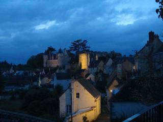 views from house at night in Montresor