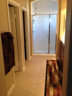 Master Suite Bathroom & Attached Huge Walk-In Closet