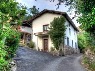 Traditional Asturian house in tranquil setting