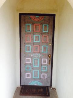 The front door to your spot in Taos
