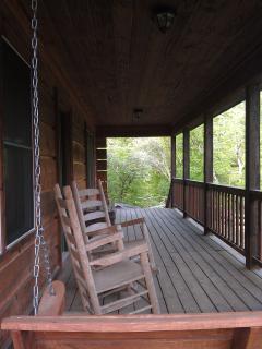 Coverd Front Porch