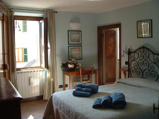 Typical double room in the Como Lake mountains