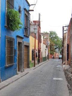 The street, Ánimas