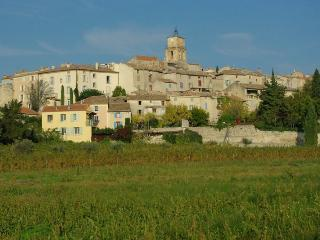 Charming village of Sablet among the vines