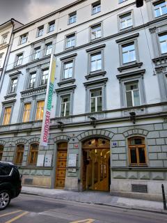 Krakovska building view
