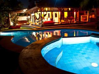 Blue Villa. Bali, the true one...