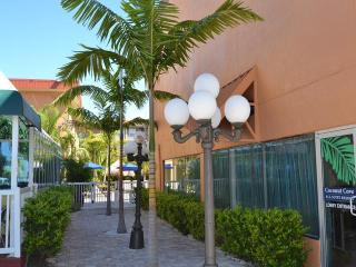 Coconut Cove Standard 1 Bedroom King Tranquil Coconut Cove cascading waterfall, Clearwater