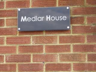 Medlar House Signage