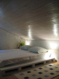 Cosy and charming bedrooms in the attic