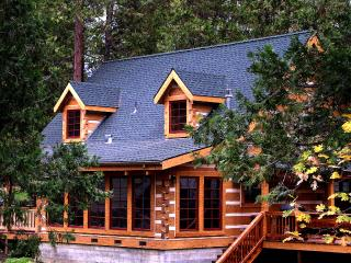 The Mount's Bass Lake Log Cabin with WIFI