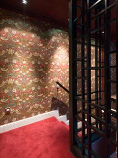 oriental room hallway