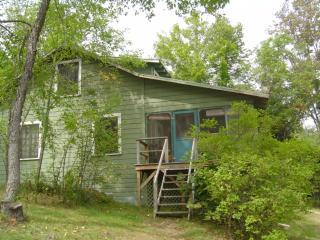 Cherrybank, an Adirondack house on the lake