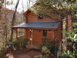 Romantic 1 Bedroom Cabin Between Gatlinburg and Pigeon Forge with Hot Tub, Sevierville