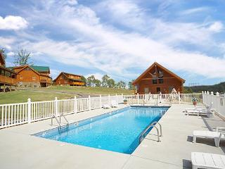 Pigeon Forge Cabin with pool access.