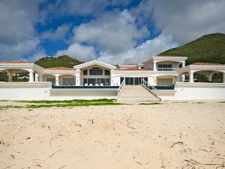 CASA SUNSHINE...spacious beach front villa on Guana Bay, St Maarten, St. Maarten