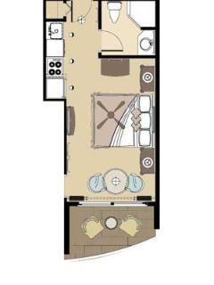 Floorplan - Studio